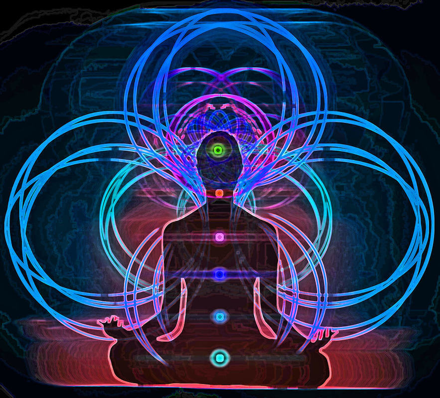 The Light From These Chakras Can Be Seen Within Physical Body By Kirlian Photography Cameras Have Confirmed Their Existence With Naked Eye